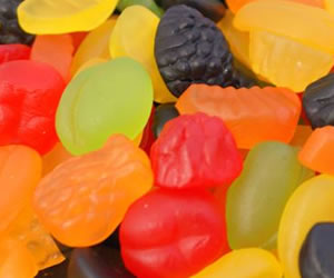 Fruit Salad Gums - Sweet Gifts, Candy Cart, Sweet Cart Hire - Rotherham, Sheffield, Doncaster, Barnsley, South Yorkshire