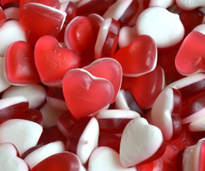 Heart Throbs Jelly - Sweet Gifts, Candy Cart, Sweet Cart Hire - Rotherham, Sheffield, Doncaster, Barnsley, South Yorkshire