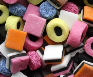 Liquorice Allsorts - Sweet Gifts, Candy Cart, Sweet Cart Hire - Rotherham, Sheffield, Doncaster, Barnsley, South Yorkshire