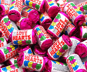 Love Hearts - Sweet Gifts, Candy Cart, Sweet Cart Hire - Rotherham, Sheffield, Doncaster, Barnsley, South Yorkshire