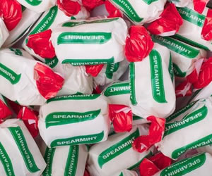 Spearmint Chew Sweets - Sweet Gifts, Candy Cart, Sweet Cart Hire - Rotherham, Sheffield, Doncaster, Barnsley, South Yorkshire